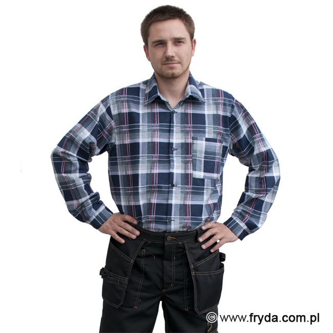 Bawełniana koszula flanelowa