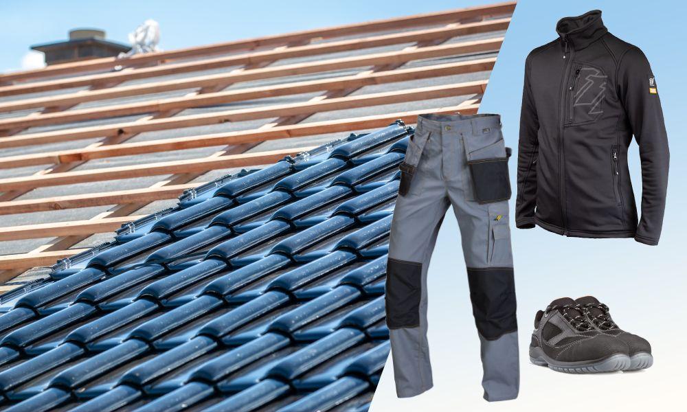 Odzież i obuwie robocze dla dekarza